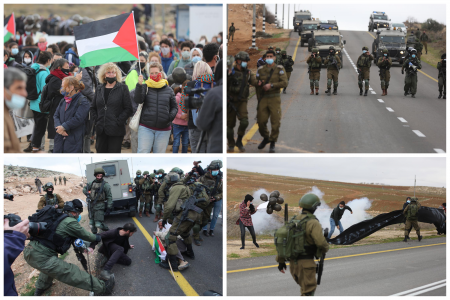 Injuries reported as occupation forces attack weekly West Bank protests