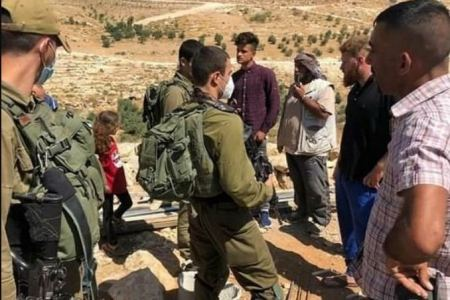 Israeli settlers attack Palestinian residents of Masafer Yatta hamlets in south of West Bank
