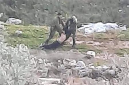 Israeli forces severally beat up, detain Palestinian teenager near Qalqilia
