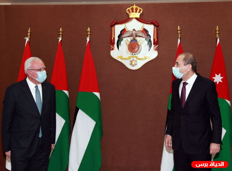 Malki discusses outcomes of Arab League meeting with Jordanian counterpart