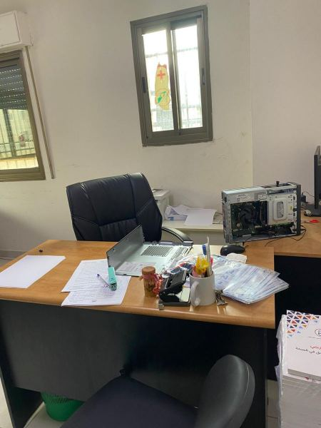 Ramallah office of a health group raided by Israeli occupation forces, ransack it and seize computer hard discs
