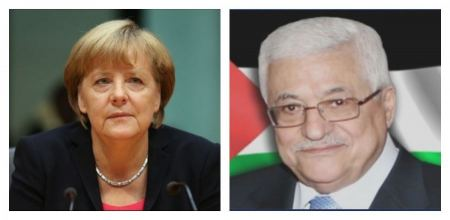 In a telephone call with President Abbas, German Chancellor supports holding Palestinian elections including in Jerusalem