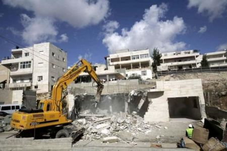 Israel to demolish Palestinian building near Jerusalem