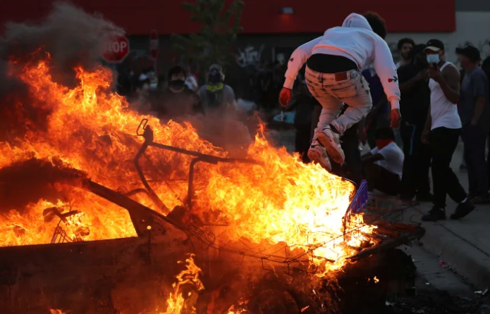 Riots in america .. America at breaking point : how one passing ...