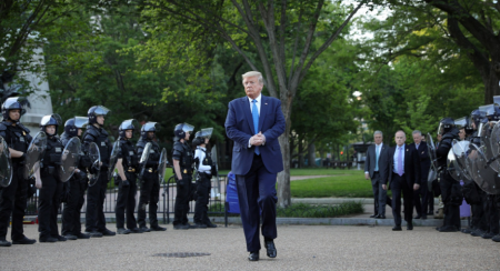 Aftermath from Trump's Lafayette Square embarrassment keeps on unfurling