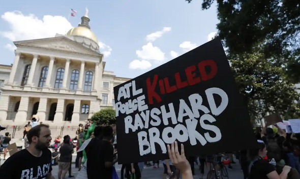 Rayshard Brooks shooting: Atlanta police boss leaves as city hall leader needs official terminated