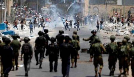 Injuries in clashes with occupation forces in Hebron