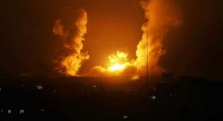 Israeli warplanes strike locales in Gaza