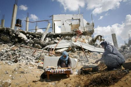 Animal sheds destroyed as demolition orders were issued against structures in south of West Bank