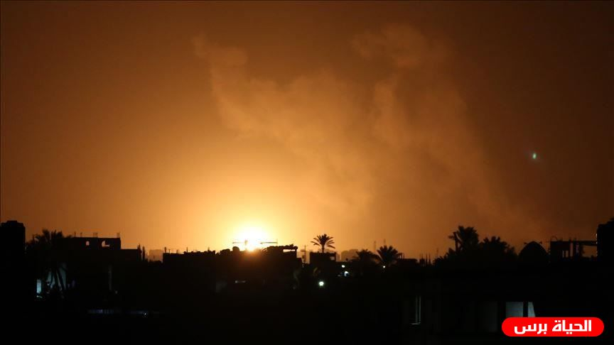 Israeli warplanes strike Gaza