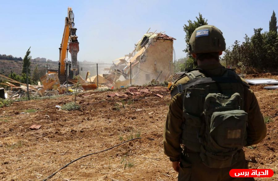 In August, Israel demolished 51 Palestinian structures in Jerusalem, displacing 85 people – center