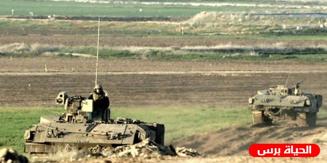 Israeli military vehicles infiltrate southern Gaza borders, raze lands