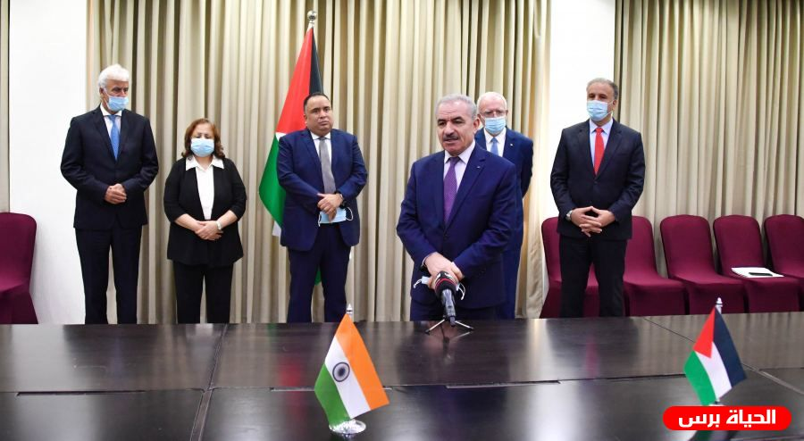 Palestine and India sign $36 million grant agreements