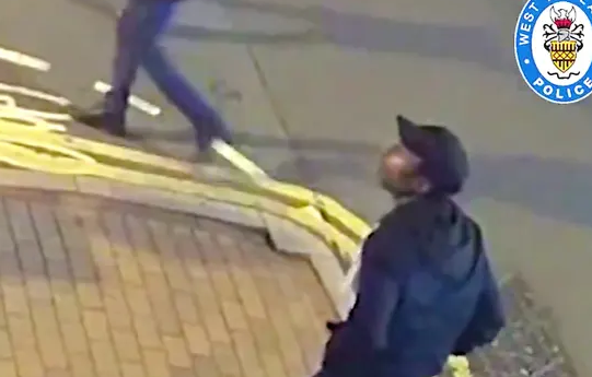 Birmingham stabbings: film delivered as police chase suspect