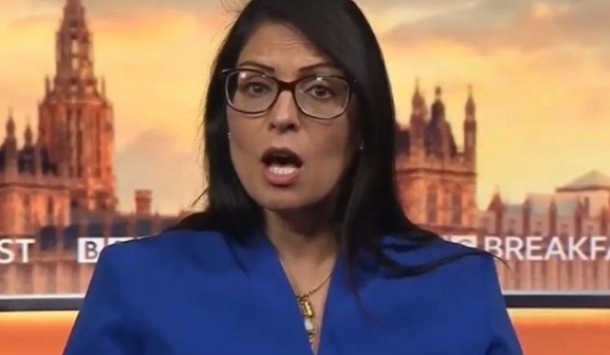 Priti Patel in 'fender bender' meet in the wake of guaranteeing 'it's inappropriate to state tests aren't accessible'