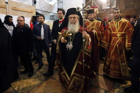 Greek Orthodox Patriarch Theophilos III condemns insults to Islam and violence in France