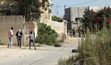 Four injured, one seriously, as occupation forces attack weekly Kafr Qaddum protest