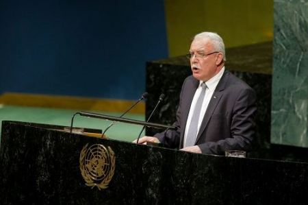 Malki reiterates call for convening international Mideast peace conference